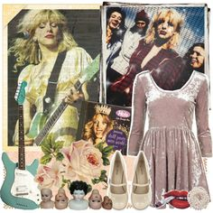 Happy Birthday, Courtney Love!! (+ tag) by golddustwomanxx on Polyvore featuring polyvore fashion style Call it SPRING Briolette grunge 90s velvet courtneylove kinderwhore