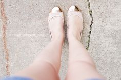 Girl Gone North - American Eagle ballet flats.