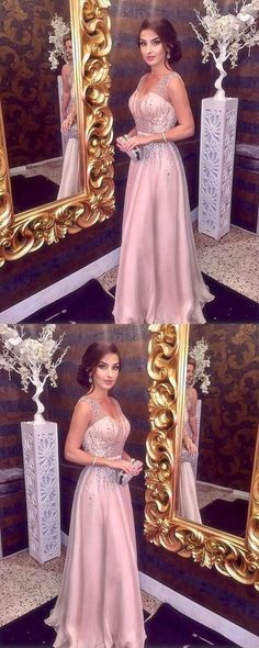 Prom Dress Princess, Sparkly Beading Prom Dress, V neck A Line Prom Dress, Sleeveless Long Formal Party Dress 2018 Shop ball gown prom dresses and gowns and become a princess on prom night. prom ball gowns in every size, from juniors to plus size. Pageant Dresses For Teens, 2 Piece Homecoming Dresses, A Line Prom Dresses, Tulle Prom Dress, Prom Party Dresses, Dresses Elegant, Elegant Bridesmaid Dresses, Dream Dress, Evening Dresses