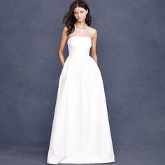 explore minimalist wedding dresses