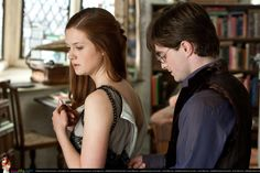 Harry Potter and Ginny Weasley  Harry Potter Series