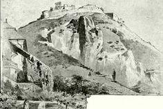 Cetatea Deva - gravuri, desene, picturi Mount Rushmore, Doors, Mountains, Nature, Naturaleza, Nature Illustration, Off Grid, Bergen, Natural