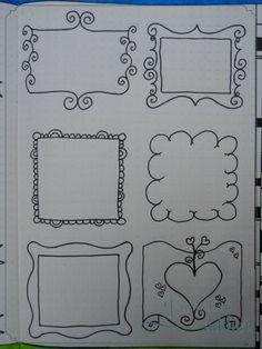Quand on est accro aux carnets, on a envie qu'ils soient beaux, avec de jolies bordures et bannières. On va les décorer avec des dessins, griffonnage, stickers, tampons…