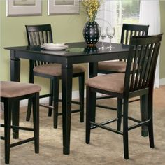 For Boraam Shaker Collection 6 Piece Bench Dining