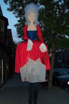 14'0 Tall Maria Antoinette puppet