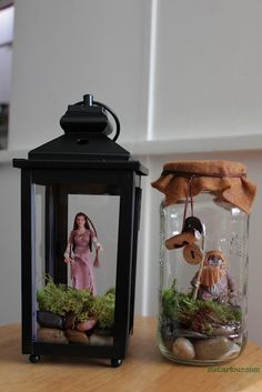 Make your own action figure terrarium | Offbeat Home