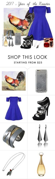 """Contest: Year of the Rooster"" by dadrumma on Polyvore featuring Agent 18, Kendall + Kylie, Porsche and Christian Dior"