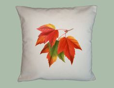 Gorgeous Fall Colors Maple Leaves Vintage by WhimsyFrills on Etsy