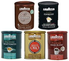 Lavazza Ground Coffee 5 Variety Pack of 5 *** More info could be found at the image url. (This is an affiliate link and I receive a commission for the sales)
