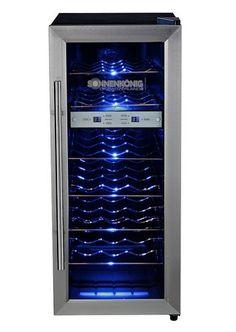 Weinkühlschrank Sonnenkönig Cava 21 Dual im Online Shop von QUELLE Versa Im Online, Shops, Dresser, 21st, Curtains, Furniture, Shopping, Home Decor, Wine