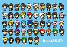 //w\\ All Character formTouken Ranbu game and I make keychain pixel bead. >>sta.sh/22c89p4ps12a?edit=1