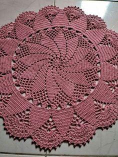 Login - Her Crochet Free Crochet Doily Patterns, Crochet Circles, Crochet Round, Crochet Home, Crochet Motif, Hand Crochet, Crochet Dollies, Crochet Flowers, Thread Crochet