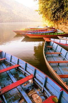 Phewa Lake, Pokhara Valley, Nepal