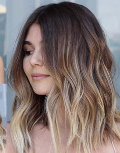 Blonde balayage hair colors and highlights are really one of the hottest colors for ladies to create in 2018. Those who don't know exactly how to choose and wear the best hair color styles they are advised to visit here and see these amazing trends of balayage hair colors. It is one of the popular colors nowadays.