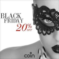 Ritorna la promozione più attesa dell'anno: il BlackFriday. Solo il 22 aprile sconto del 20%, anche su coincasa.it! #blackfridaycoin