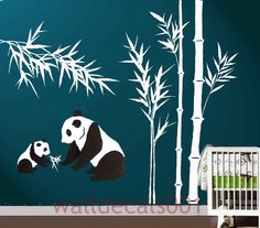I did Panda theme for Gracie's 1st. This would've been so cute for her nursery!