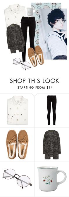 """""""Coffee boy"""" by dark-moon15 ❤ liked on Polyvore featuring Paul Smith, Gucci, UGG, Enza Costa, Pfaltzgraff and dmxfashion"""