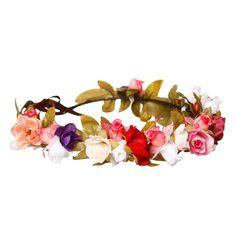 Coroa de Flores HeadBand {Colorida}