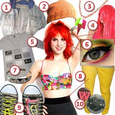 Hayley Williams · DIY The Look · Cut Out + Keep