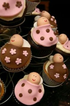 Cup Cakes for baby shower