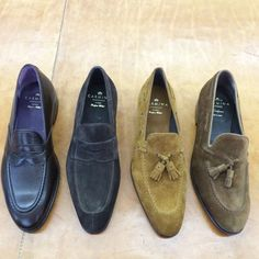 Carmina shoemaker, specialists in cordovan shoes, dress shoes Suede Shoes, Loafer Shoes, Loafers Men, Shoe Boots, Best Shoes For Men, Men S Shoes, Hot Shoes, Mens Dress Outfits, Men Dress