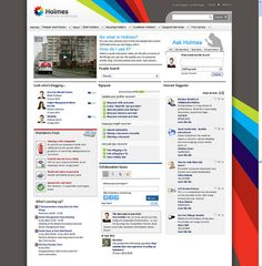 Holmes - the award-winning intranet from Glasgow Housing Association.