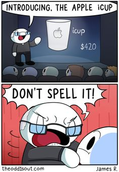 The apple iCup.