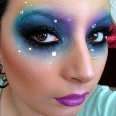 makeup by Ariel Lizarraga.