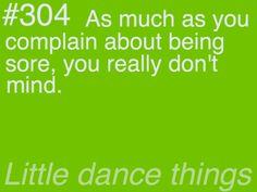 True for running, true for dancing