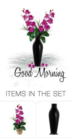 """""""gm#13 orchids"""" by chimechn ❤ liked on Polyvore featuring art"""
