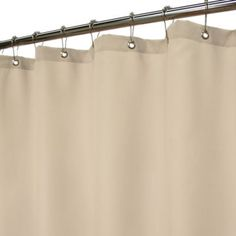 Park B. Smith® Dorset Solid Linen 72-Inch x 72-Inch Watershed® Shower Curtain - BedBathandBeyond.com