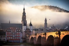 Heidelberg -- Germany's most famous and oldest university town - it was established in 1386 and is today regarded as one of Europe's foremost centres of learning and research - has been attracting enamoured visitors for centuries.
