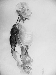 I, Robot Biomechanical Tattoo, I Robot, Sci Fi Fantasy, Sci Fi Art, Great Movies, Tattoo Inspiration, Deviantart, Drawings, Artwork