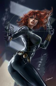 Black_Widow by crisdelarastudio.deviantart.com on @deviantART