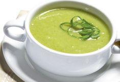 Receita de sopa cremosa com couve manteiga