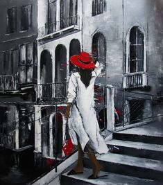 Original Architecture Painting by Magdalena Serwin Impressionism Art, Source Of Inspiration, Saatchi Art, Original Paintings, Cotton Fabric, Polish, Artists, Architecture, Arquitetura
