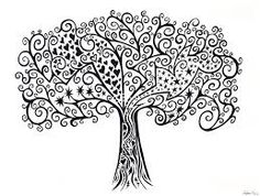 Image result for trees drawing