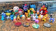 "#pokemon Lot of 36 Pokemon Monsters 1"" MINI Figures Random Party Favors Cupcake Toppers please retweet"