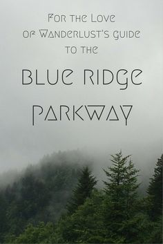 For the Love of Wanderlust's BlueRidgeParkway Guide shares hikes and other expressions on the parkway! Wnc NorthCarolina Virginia Wanderlust
