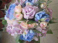 Dekorácie - kytica-gratulačná-svadobná - 6746032_