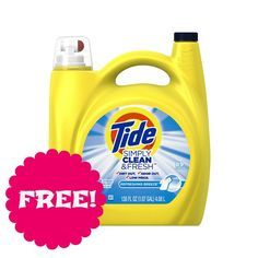 FREE 138 oz Tide at Walmart through 1/12/15 | Closet of | Get FREE Samples by Mail | Free Stuff
