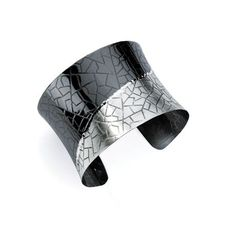 ECCE collection sterling silver geometric cuff; $ 450; Leslie's