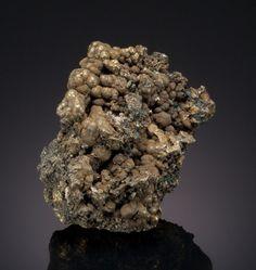 "CHALCOPYRITE: ""BLISTER COPPER"" Cook's Kitchen Mine, Carn Brea and Tincroft United Mine, Illogan, Camborne-Redruth-St. Day District, Cornwall, England, UK"