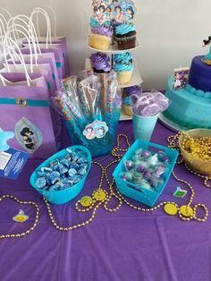 Aladdin and Princess Jasmine party
