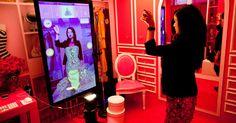 La moda investe nella realtà aumentata e gli abiti si provano con i tablet o con la webcam