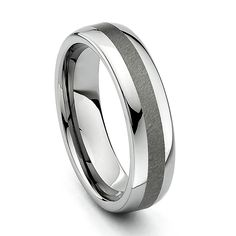 6mm Rounded Edge Tungsten Wedding Band - Size 9. Scratch Resistant. Comfort-Fit. Promptly Packaged with Gift Box. 30 Day Manufacturer's Return Policy. Although scratch resistant, tungsten is not indestructible.