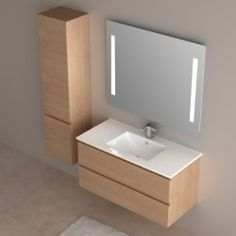 1000 images about meubles salle de bain on pinterest for Cabinet salle de bain