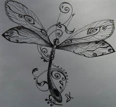 dragonfly tattoo - - Yahoo Image Search Results