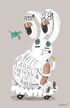 GigPosters.com - White Rabbits - Hoof And The Heel, The