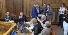 Vuçiç; Konferenca e fundit si kryeministër
